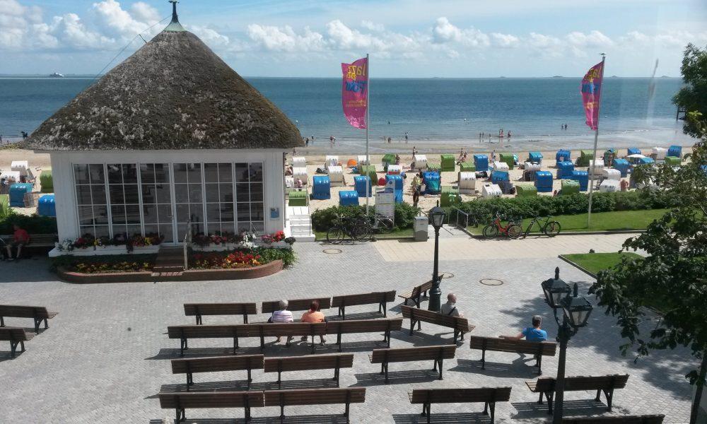 Tide-Lounge in der friesischen Karibik